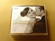 5 CD BOX / DE ALLERMOOISTE OPENINGSDANSEN (JOE COCKER, NOORDKAAP, LOU REED)(ARS)