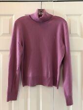 RALPH LAUREN Cashmere Turtleneck, Purple/Lavender, Size XL - New With Tags!