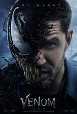 Venom 2nd Advance in Real 3D Double Sided Original Movie Poster 27x40 inches