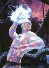 Marvel Masterpieces 2020 Epic Purple [199] Foil Base Card #88 Martinex