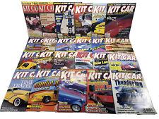 Kit Car Illustrated Magazines Vintage Lot Of 23 1995-1999 Auto Enthusiasts Books