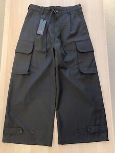 Adidas Y-3 Yohji Yamamoto Womens Small Black Cargo Pants