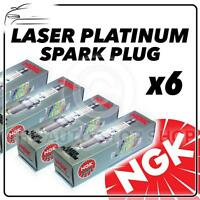 6x NGK SPARK PLUGS Part Number PZFR6H Stock No. 7696 New Platinum SPARKPLUGS