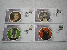 1997 GB TALES & LEGENDS On 5 BENHAM SILK First Day Covers Special Cancels SET A