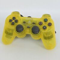 PS2 DUAL SHOCK 2 Analog Controller SCPH-10010 Lemon Yellow Playstation 1504