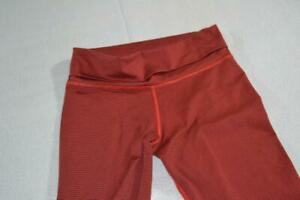 19395-a Womens Nike Gym Pants Yoga Dri-Fit Red Size Small
