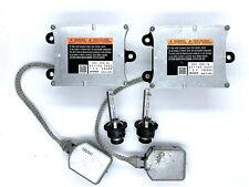 2x OEM 10-16 Cadillac SRX Xenon Ballast Igniter & HID D2S Headlight Bulb