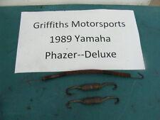 89 88 87 86 85 YAMAHA PHAZER DELUXE pz485 exhaust pipe mount springs spring set