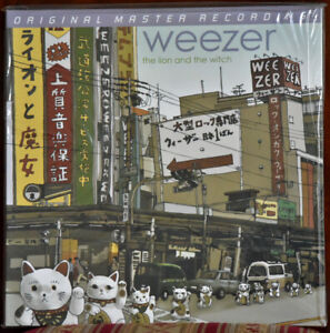 AUDIOPHILE MOBILE FIDELITY  MFSL 1-391 WEEZER Lion & Witch 180g No. #2558 SEALED