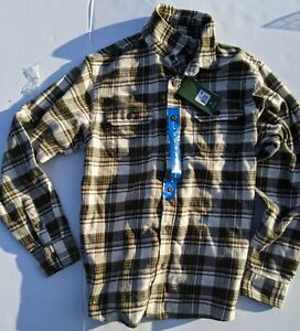 NEW ORVIS MENS SHIRT SIZE LARGE FLANNEL BIG BEAR