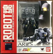 Bandai Robot Spirits Gundam Wing Aries & Noin Custom Tamashii Webshop Exclusive