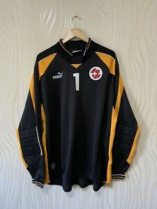 SWITZERLAND 1998 1999 2000 GOALKEEPER FOOTBALL SHIRT SOCCER JERSEY PUMA VINTAGE