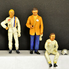 Figurines Team Gulf Le Mans 1970 Wyer/Rodriguez/Siffert 1:24 Le Mans Miniatures