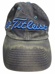 Titleist Golf Hat UNC Chapel Hill Adjustable Cap Carolina Tar Heels Twins OSFA