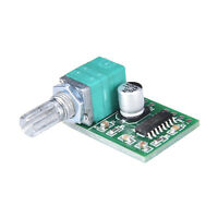 Mini 5V PAM8403 Audio Power Amplifier Board 2 Channel With Volume Control fo
