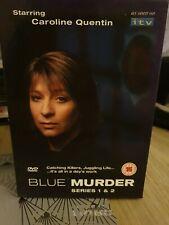 Blue Murder TV season Series 1 - 2 DVD Caroline Quentin