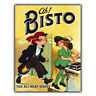 METAL SIGN WALL PLAQUE AH! BISTO Vintage Retro KITCHEN Advert Poster art print a