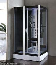 Steam Shower Enclosure w/Hydro Massage.Bluetooth Audio 6 Year USA Warranty