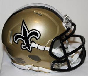 Drew Brees New Orleans Saints Riddell Custom Mini Helmet