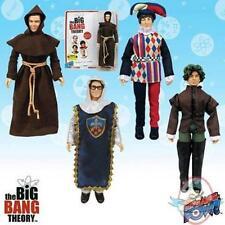 "SDCC The Big Bang Theory Renaissance Fair Costumes 8"" Figures Set of 4"