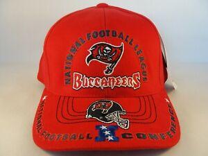 Tampa Bay Buccaneers NFL Vintage NFC Strapback Hat Cap American Needle Red