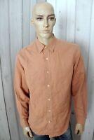 TIMBERLAND Camicia Uomo Shirt Casual Manica Lunga Cotone Chemise Taglia M