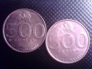 INDONESIA    500  RUPIAH   2001   2003    OCT04F