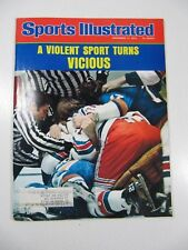 Sports Illustrated Magazine- November 17, 1975 A Violent Sport Turns Vicious