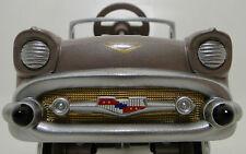 Pedal Car 1957 Chevrolet Belair Rare Vintage Sport Hot Rod Metal Midget Model