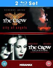 The CROW - CITY OF ANGELS & SALVATION 2 Blu Ray Set Region B (AUS) New & Sealed