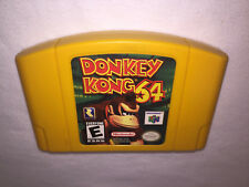 Donkey Kong 64 (Nintendo N64) Authentic Yellow Game Cartridge Excellent!
