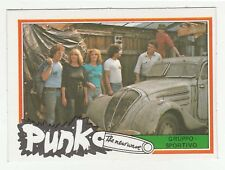 1970s Monty Gum Punk - Pop Star Card Dutch Group Gruppo Sportivo - by old car