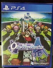 One Way Heroics Limited Run Games Brand New Sealed US PS4 Playstation 4