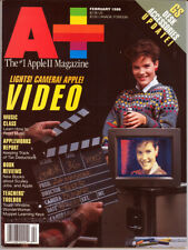 A+ Magazine (February 1988) Apple II Video