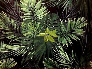 Green Fern Leaves  Wall Hanging Tapestry Fast Shipping USA 180x150 cm approx.
