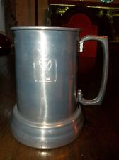 "Playboy Collectibles: 5"" x 4.5"" PEWTER STEIN WITH PLAYBOY BUNNY   140501005"