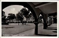 FREUDENSTADT Schwarzwald Markt mit Café Rebstock AK alte Postkarte um 1940