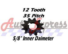 "12 Tooth Sprocket Gear 35 5/8"" Go Kart Fits Comet Tav2 30 For Manco Yerf Dog"