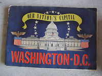 Vintage 1942 Illustrated Booklet - Our Nation's Capital Washington DC