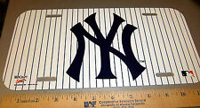 New York Yankees Major league baseball MLB Plastic License Plate, made in the US