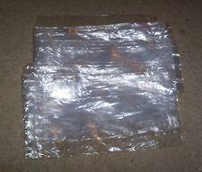 "1000 Clear 3.5"" x 8.5"" Plastic bag lot zip-lock Used ship dry goods hang holes"