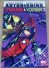 ASTONISHING SPIDER-MAN & WOLVERINE hardback Marvel graphic novel tpb