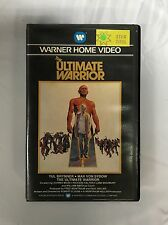 The Ultimate Warrior Ex-Rental Vintage Big Box VHS Tape English with dutch subs