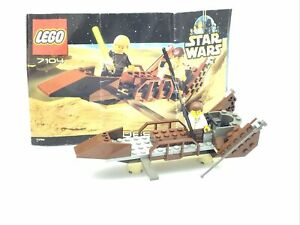 Lego 7104 Star Wars Desert Skiff With Instructions