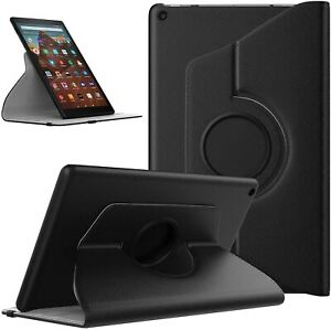 For Amazon Fire 7 Tablet Case Stand Cover 360 ° Rotating (9th Generation 2019)