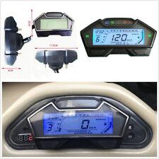 Multifunctional Motorbike Speedometer Odometer RPM 13000 Oil Meter Kph Mph Gauge