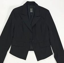 Giacca blazer nera giacchetta jacket donna 42 44 usata corta top elegante T1323