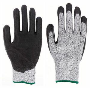 Schnittschutzhandschuhe Schnittfeste Arbeits- Handschuhe EN 388