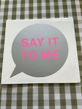 Pet Shop Boys - Say it to Me - LOVELY SOLD OUT 5 TRACK CD Single - STILL SEALED