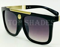 Fashion Gold Arms New Designer Men Women Sunglasses Black Brown Frame and Lens